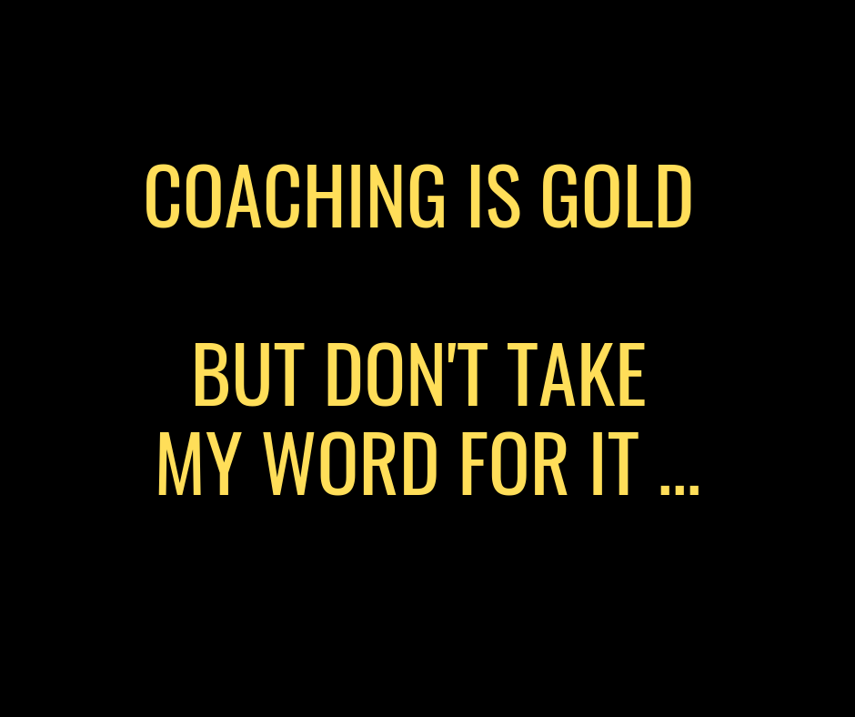 Is coaching worth the investment?